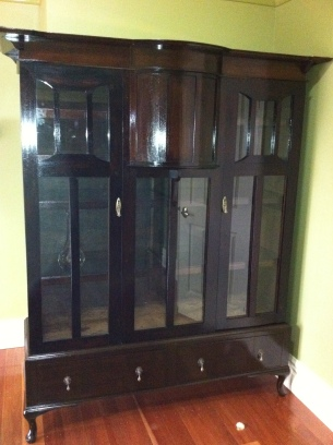 Crystal Cabinet made from wardrobe : Price on Application