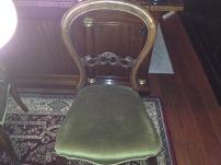 Balloon Backed Chair : $200