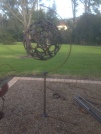 Horseshoe ball on stand: $260 - Ball sold seperately $190
