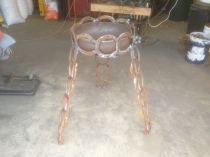 Brazier or Plant stand: $90