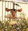 Curious Bird and feeder: $220