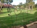 Garden stakes - Range $80 - $150
